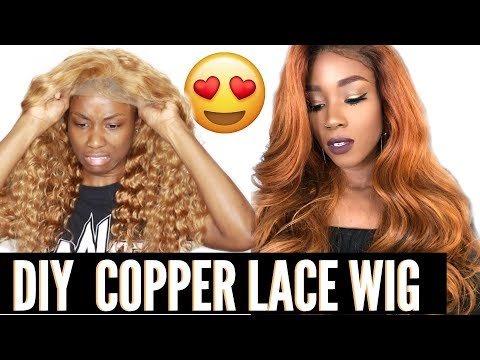How to get Copper Ginger Hair   DIY orange hair