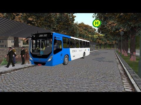 OMSI 2 - Linha 104 Mapa Cidade de Campo Velho