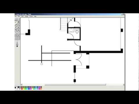 Using Microsoft Paint to Complete a Slow Home Design Project
