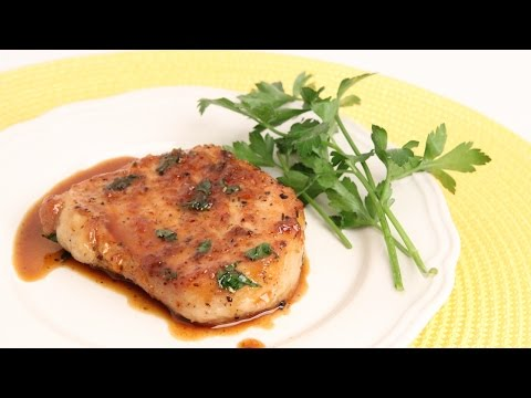 Garlic & Brown Sugar Pork Chops Recipe - Laura Vitale - Laura in the Kitchen Episode 889