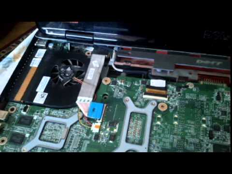 Dell Inspiron N7010 Disassembly