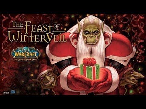 Kujo Moon Plays World of Warcraft - 2017 Feast of Winter Veil