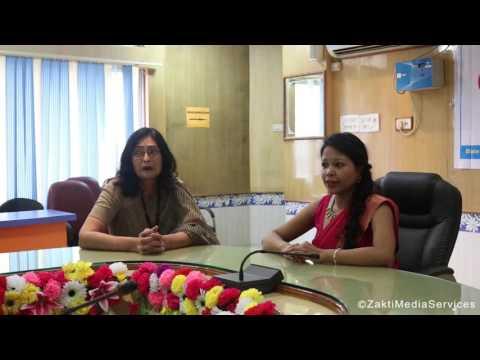 Assam Civil Services Topper Ms.Ankita Bora being interviewed