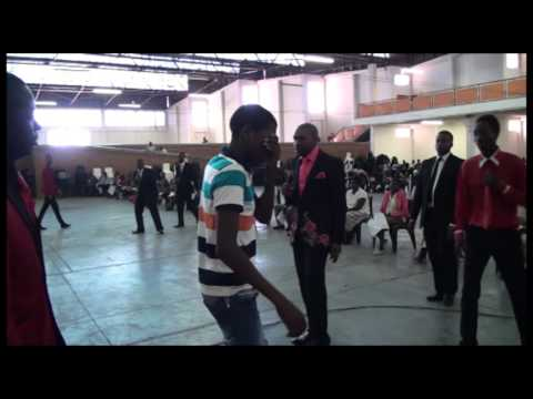 demon possessed young man gets blind during deliverance l Prophet Blessing Chiza