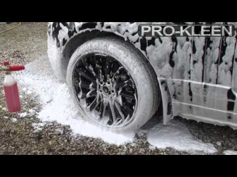 PROKLEEN SNOWFOAM - RANGE ROVER AUTOBIOGRAPHY