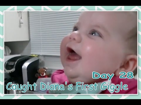 Caught Diana's First Giggle - Daily Vlogging (Jan 28, 2017)