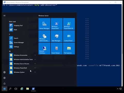 Configuring DNS using PowerShell