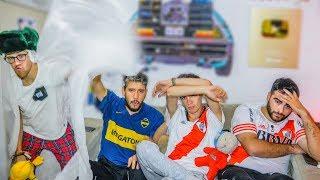 River vs Gimnasia (M)   REACCIONES PENALES - Copa Argentina 2019  