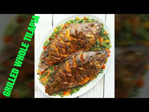 GRILLED WHOLE TILAPIA - What To Cook For Dinner