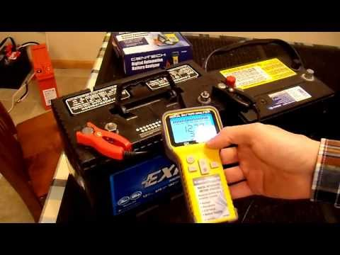 Battery Analyzer Conductance Tester Review Part 2/2