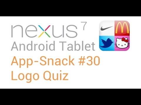 Tablet Android Apps: #30 Logo Quiz - Nexus 7