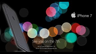 Apple iPhone 7 Event, What to expect !
