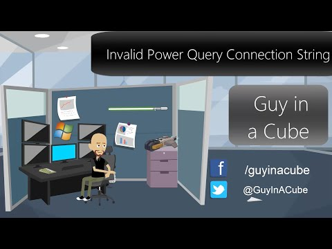 Invalid Power Query Connection String