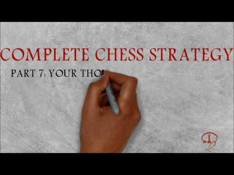 BEGINNER TO 2000 - COMPLETE CHESS STRATEGY PART 7: YOUR THOUGHT PROCESS TACTICS!
