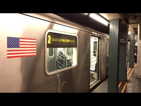 New York City Subway: Wall Street Station on the IRT 7th Ave and Lexington Ave Lines