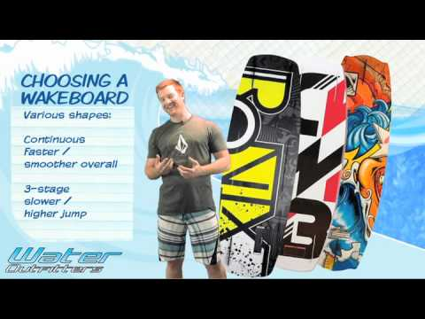 How to Choose the Correct Wakeboard