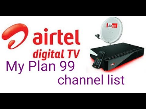 Airtel digital Tv My Plan 99 में 216+ चैनल