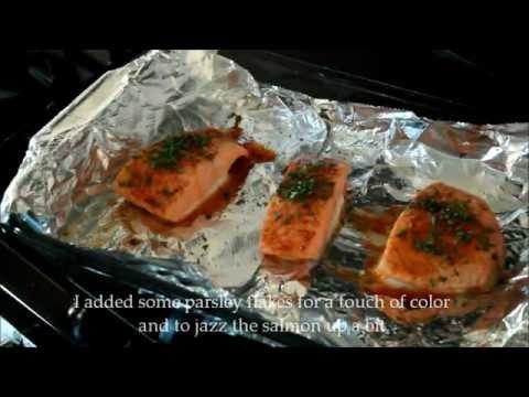 Be Healthy: Brown Sugar Glazed Salmon
