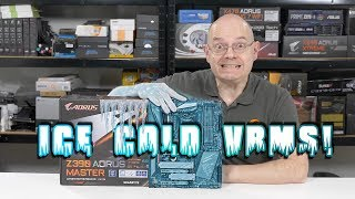 Gigabyte Z390 Aorus Master Motherboard - ICE COLD VRMS !