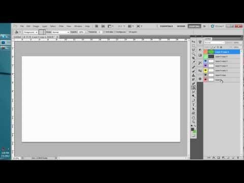 How To Change The Layer Color In Photoshop CS5