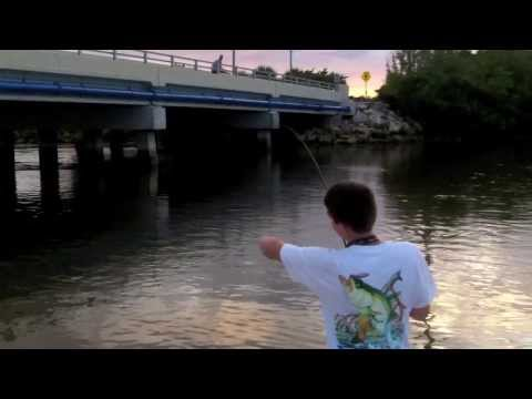 Snook Fishing Blind Pass in Sanibel Florida with Unfair Lures