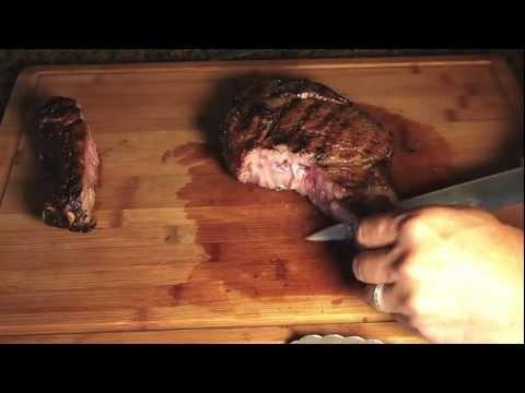 Grilled Cowboy Ribeye Steak
