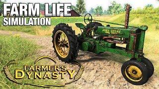Download FARM LIFE SIMULATION | Farmer's Dynasty FIRST LOOK (Beta) Video