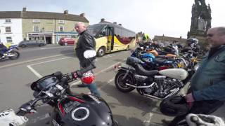 Street Triple RS 765 SC Project S1 Helmsley to Middlesbrough