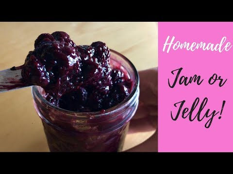 Simple & Healthy Homemade Jam/Jelly that tastes Better than store bought!