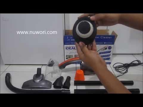 [ nuwori ]  Cara Membuka HEPA Filter Vacuum Cleaner Idealife IL-130S Untuk Di Bersihkan