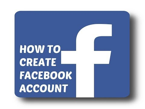 how to create a facebook account 2018