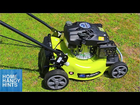 How to run in a new Lawn Mower - 4 Stroke
