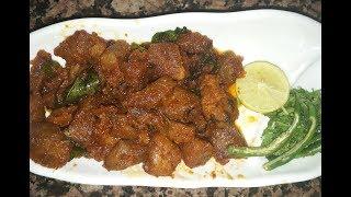 Hyderabadi Kadak Tala Hua Gosht l Crispy Mutton Fry l Sehri Special l Norien Nasri