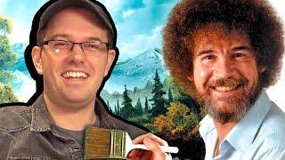 Bob Ross: My Childhood Hero - Cinemassacre Review