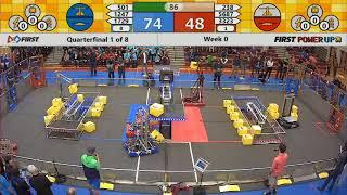 Quarterfinal 1 - 2018 Week 0