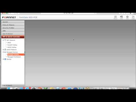How to configure Fortinet Access Points