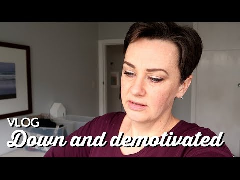 Vlog: Down and Demotivated | A Thousand Words