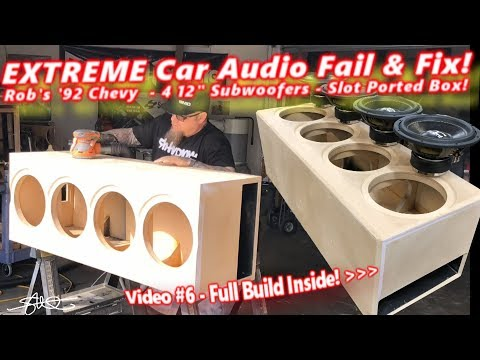 Extreme Car Audio FAIL & Fix
