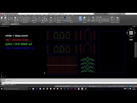 Laser Cutting - AutoCAD 1 - Drawing Setup