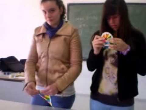 MAKE ORIGAMI DNA MODEL BY HELENA&MARIA