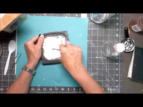 DIY Air Dry Clay with cornstarch, oil, vinegar and glue!