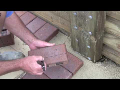 Cutting Pavers (Stage 4)