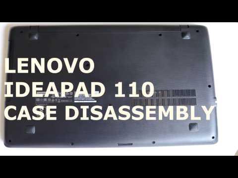 Laptop disassembly | Lenovo ideapad 110 | RAM , SSD upgrade possible ?