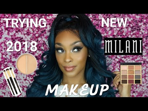 TRYING NEW 2018 MILANI MAKEUP | FULL FACE FIRST IMPRESSIONS