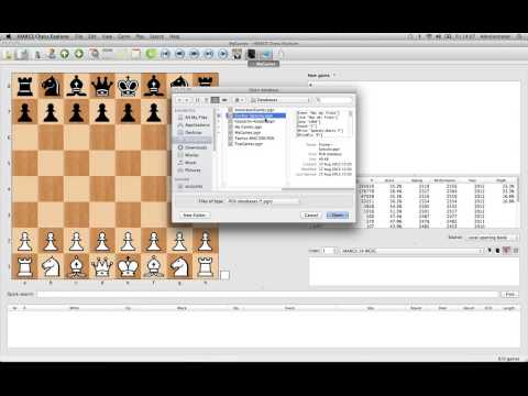 Mac Chess Explorer - Accessing Databases