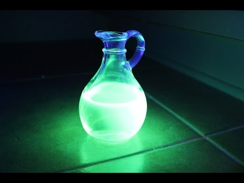 How To Make GLOW WATER!