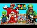 Super Mario Toy Challenge + Mario and Luigi ! || Toy Review || Konas2002