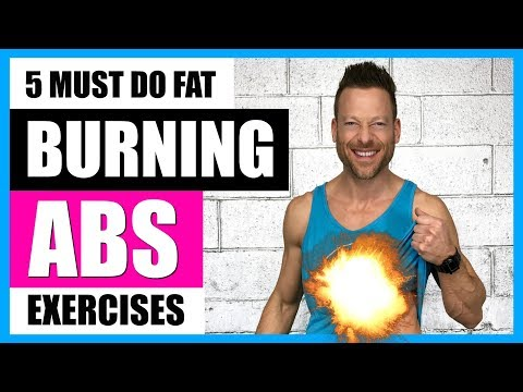 5 FAT BURNING EXERCISES FOR ABS (No More Crunches) 🔥🔥 Live!