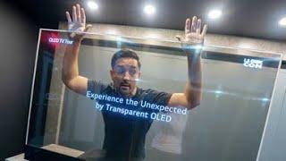 🤯 This Transparent OLED TV Blew My Mind