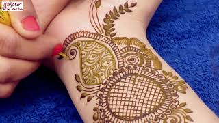 mehndi for beginners || Easy Mehndi Trick || mehndi design || mehndi designs for hands #142